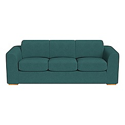 Debenhams - 4 seater velour 'Jackson' sofa
