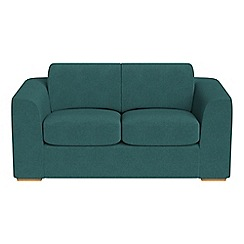 Debenhams - 2 seater velour 'Jackson' sofa