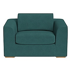 Debenhams - Velour 'Jackson' loveseat