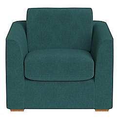 Debenhams - Velour 'Jackson' armchair