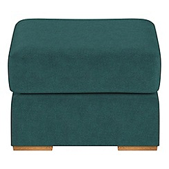 Debenhams - Velour 'Jackson' footstool