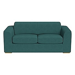 Debenhams - 3 seater velour 'Jackson' sofa bed