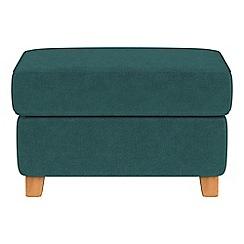 Debenhams - Velour 'Arlo' storage footstool