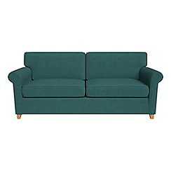Debenhams - Velour 'Arlo' sofa bed