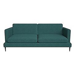 J by Jasper Conran - 3 seater velour 'Ellsworth' sofa