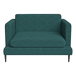 J by Jasper Conran - Velour 'Ellsworth' loveseat