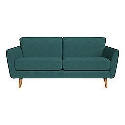 Debenhams - 3 seater velour 'Isabella' sofa