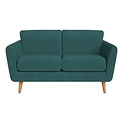 Debenhams - Small 2 seater velour 'Isabella' sofa