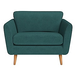 Debenhams - Velour 'Isabella' loveseat