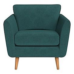 Debenhams - Velour 'Isabella' armchair