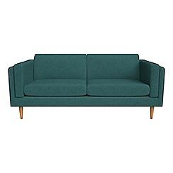 Debenhams - 3 seater velour 'Lille' sofa