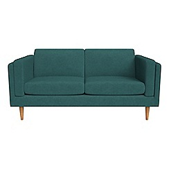 Debenhams - 2 seater velour 'Lille' sofa