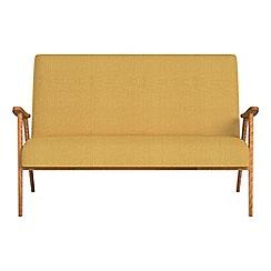 Debenhams - Compact tweedy weave 'Kempton' sofa