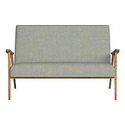 Debenhams - Compact textured weave 'Kempton' sofa