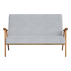 Debenhams - Compact brushed cotton 'Kempton' sofa