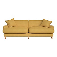Debenhams - 4 seater tweedy weave 'Archie' sofa