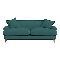 Debenhams - 3 seater velour 'Archie' sofa