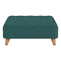 Debenhams - Velour 'Dimple' footstool