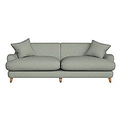 Debenhams - 4 seater textured weave 'Archie' sofa