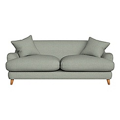 Debenhams - 3 seater textured weave 'Archie' sofa