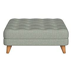 Debenhams - Textured weave 'Dimple' footstool