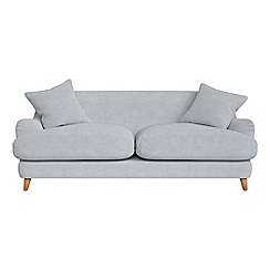 Debenhams - 3 seater brushed cotton 'Archie' sofa