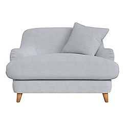 Debenhams - Brushed cotton 'Archie' loveseat