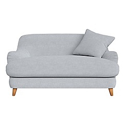 Debenhams - Compact brushed cotton 'Archie' sofa