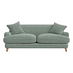 Debenhams - 3 seater chenille 'Archie' sofa