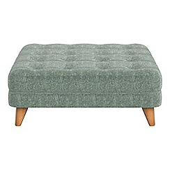 Debenhams - Chenille 'Dimple' footstool