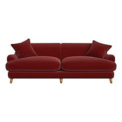 Debenhams - 4 seater velvet 'Archie' sofa