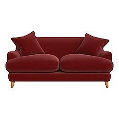 Debenhams - 2 seater velvet 'Archie' sofa