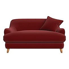 Debenhams - Compact velvet 'Archie' sofa