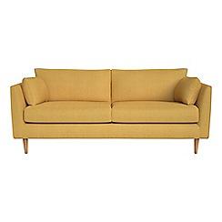 RJR.John Rocha - 3 seater tweedy weave 'Ravello' sofa