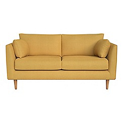 RJR.John Rocha - Small 2 seater tweedy weave 'Ravello' sofa