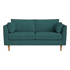 RJR.John Rocha - Small 2 seater velour 'Ravello' sofa