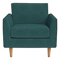 RJR.John Rocha - Velour 'Ravello' armchair