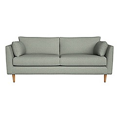 RJR.John Rocha - 3 seater textured weave 'Ravello' sofa