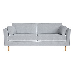 RJR.John Rocha - 3 seater brushed cotton 'Ravello' sofa