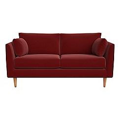 RJR.John Rocha - Small 2 seater velvet 'Ravello' sofa