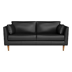 RJR.John Rocha - 2 seater luxury leather 'Ravello' sofa
