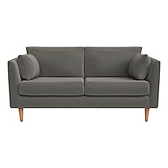 RJR.John Rocha - Small 2 seater natural grain leather 'Ravello' sofa