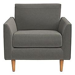 RJR.John Rocha - Natural grain leather 'Ravello' armchair