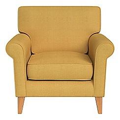 Debenhams - Tweedy weave 'Arlo' armchair