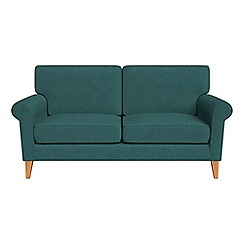 Debenhams - 2 seater velour 'Arlo' sofa