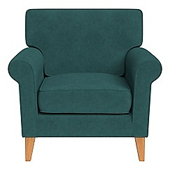 Debenhams - Velour 'Arlo' armchair