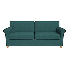 Debenhams - Velour 'Arlo' sofa bed