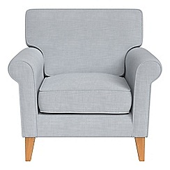 Debenhams - Brushed cotton 'Arlo' armchair