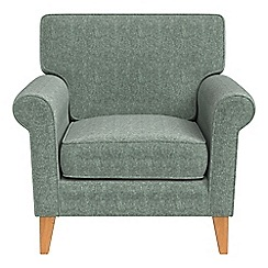 Debenhams - Chenille 'Arlo' armchair