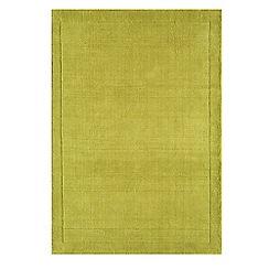 Debenhams - Lime green wool 'York' rug